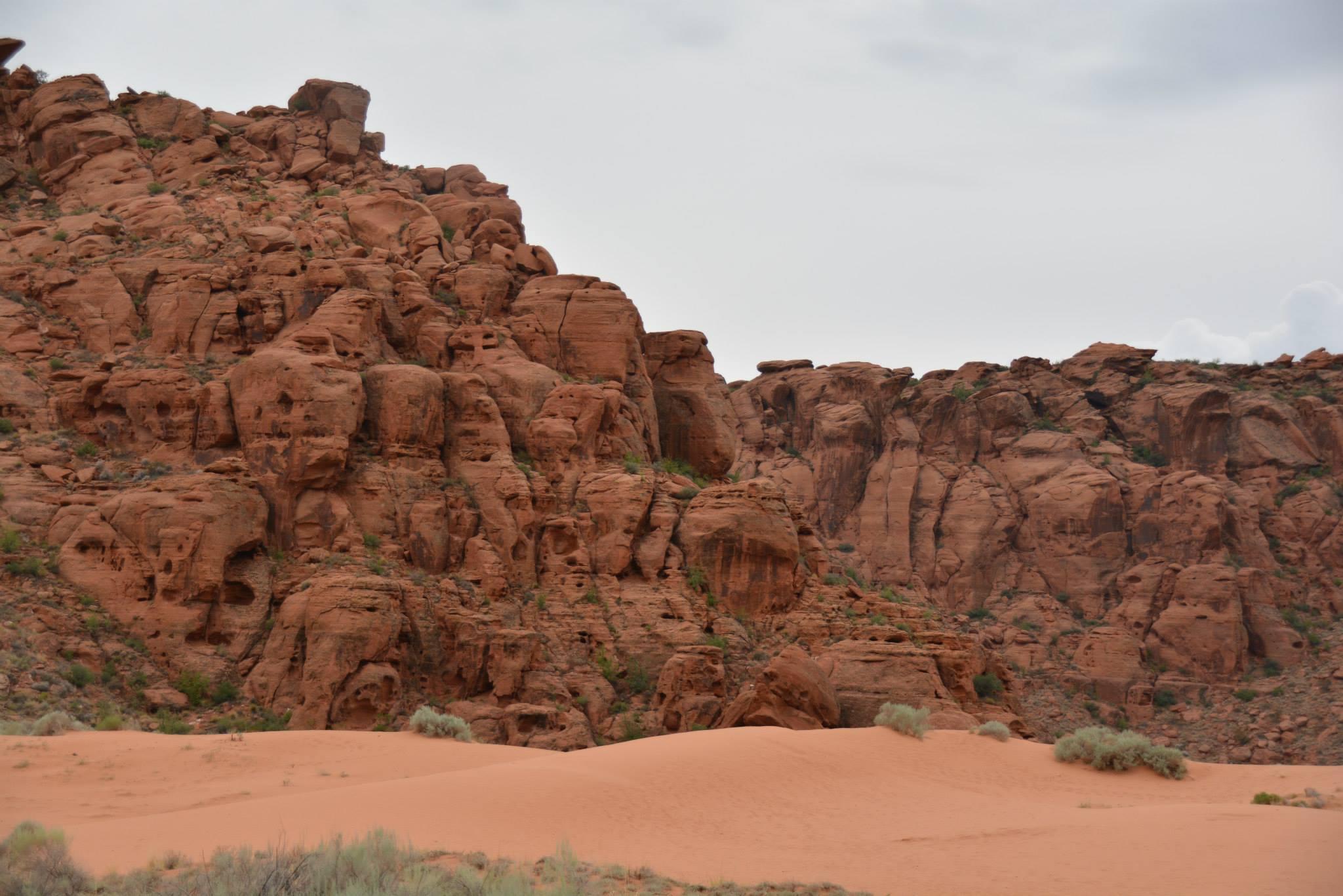 סלעים אדומים -נבאדה