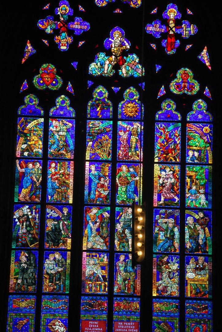 חלונות ויטראז' זכוכית