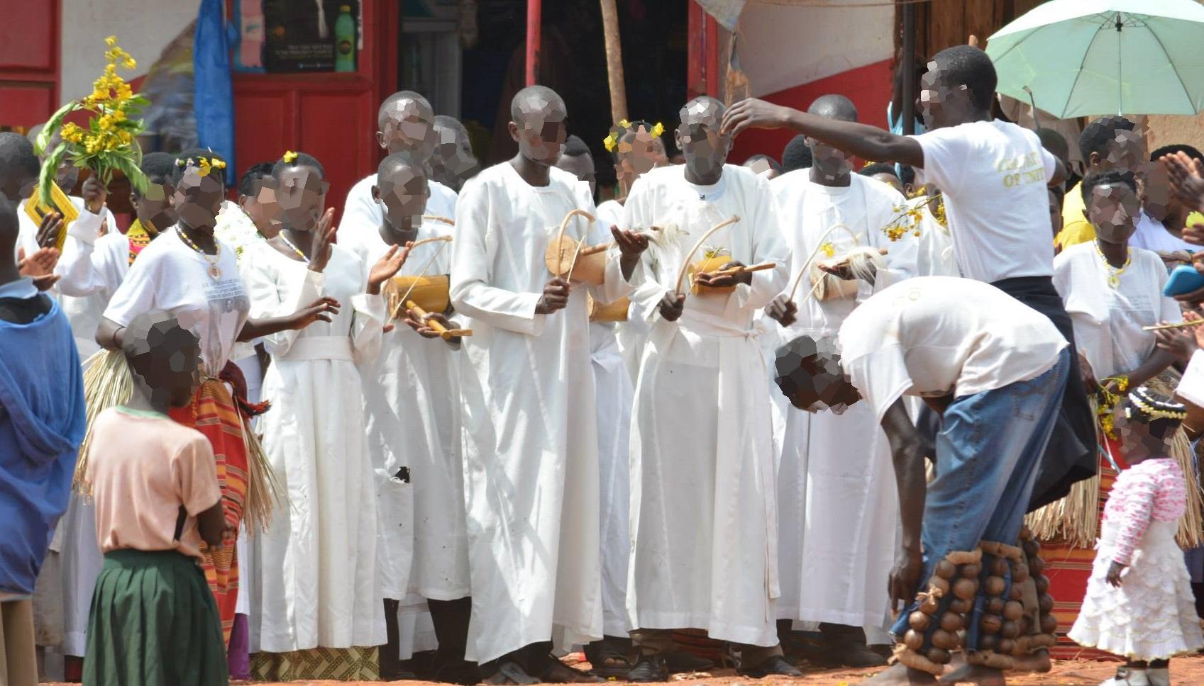מסורת בכפרים נוצריים