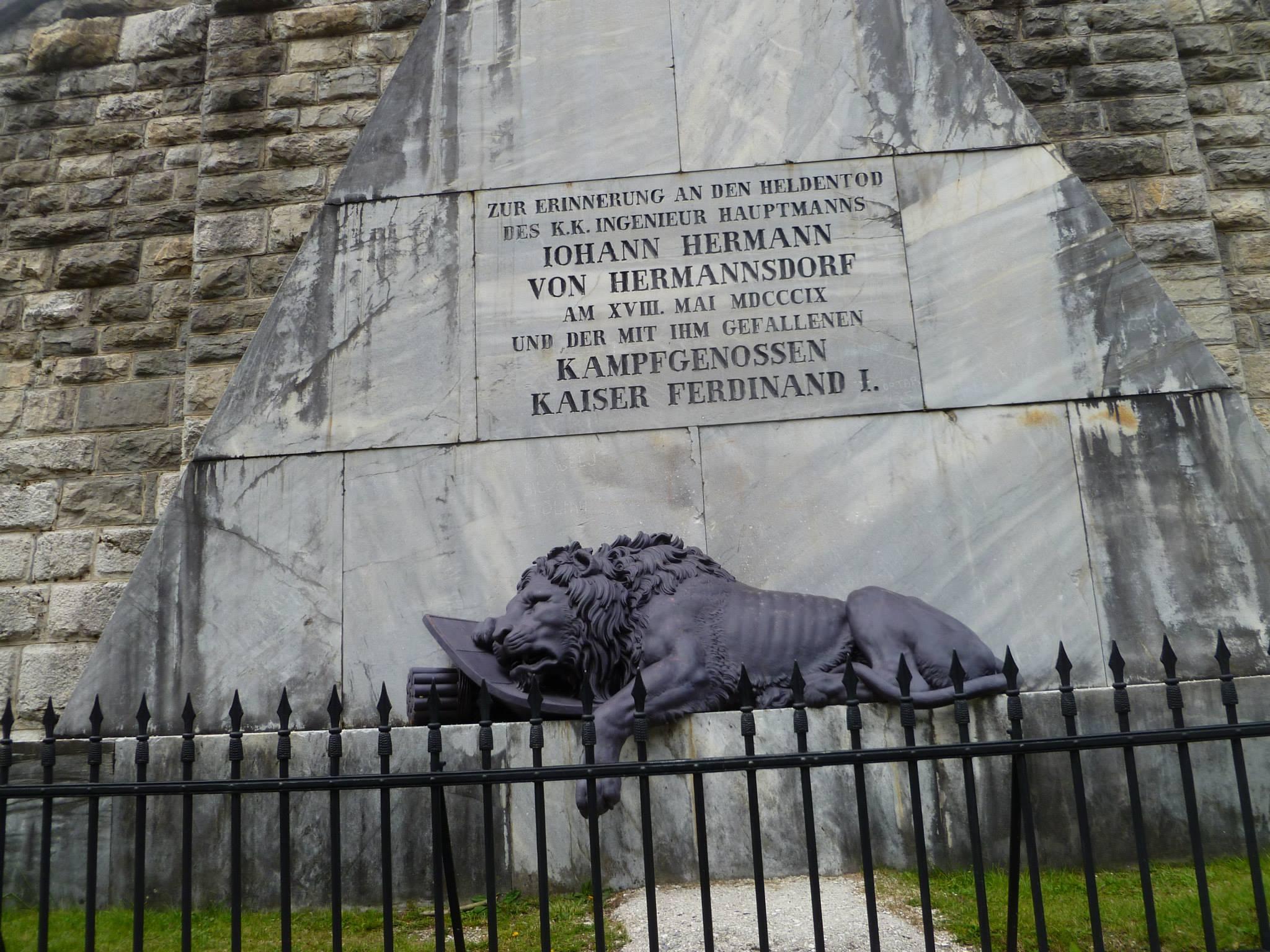 פסל האריה הגוסס