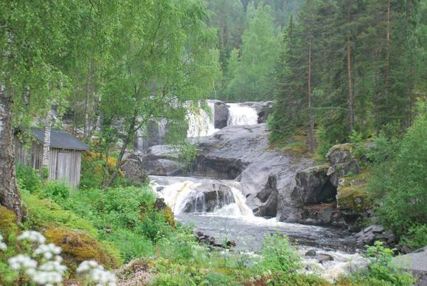 Føssan waterfalls