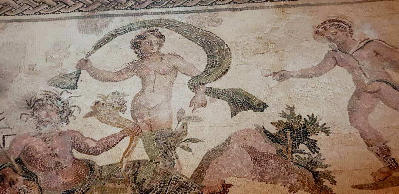 האתר הארכיאולוגי בפאפוס