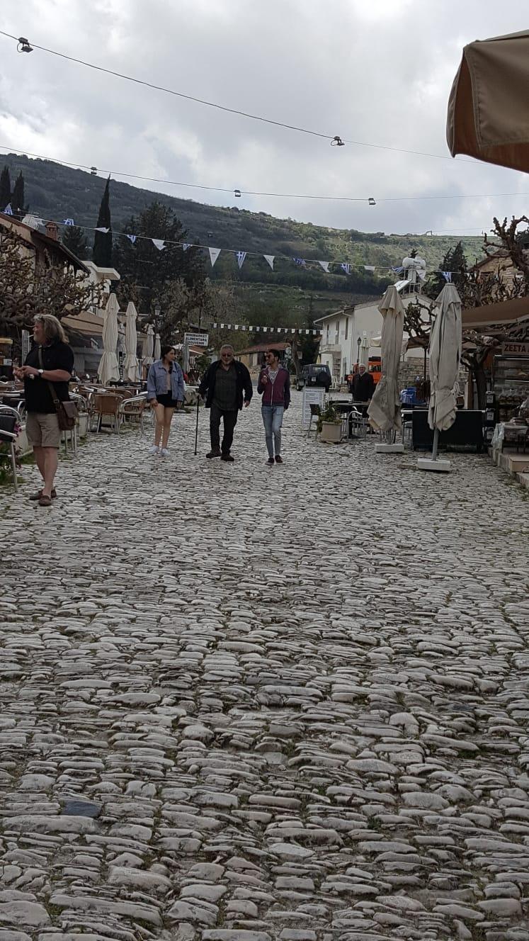 העיירה Omodos