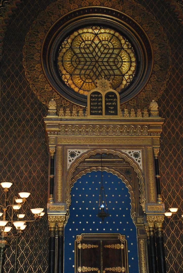 פנים בית הכנסת הספרדי