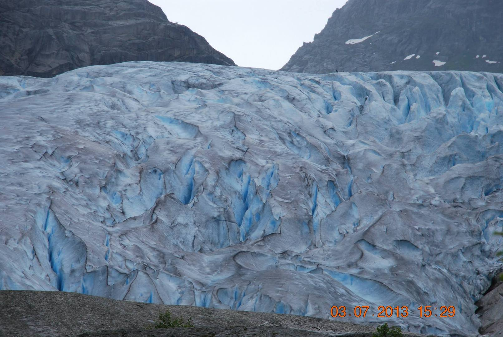 הנוף הזה של Nigardsbreen Glacier