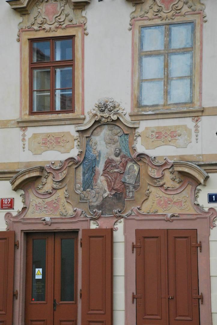 חזית הבניין הציורית