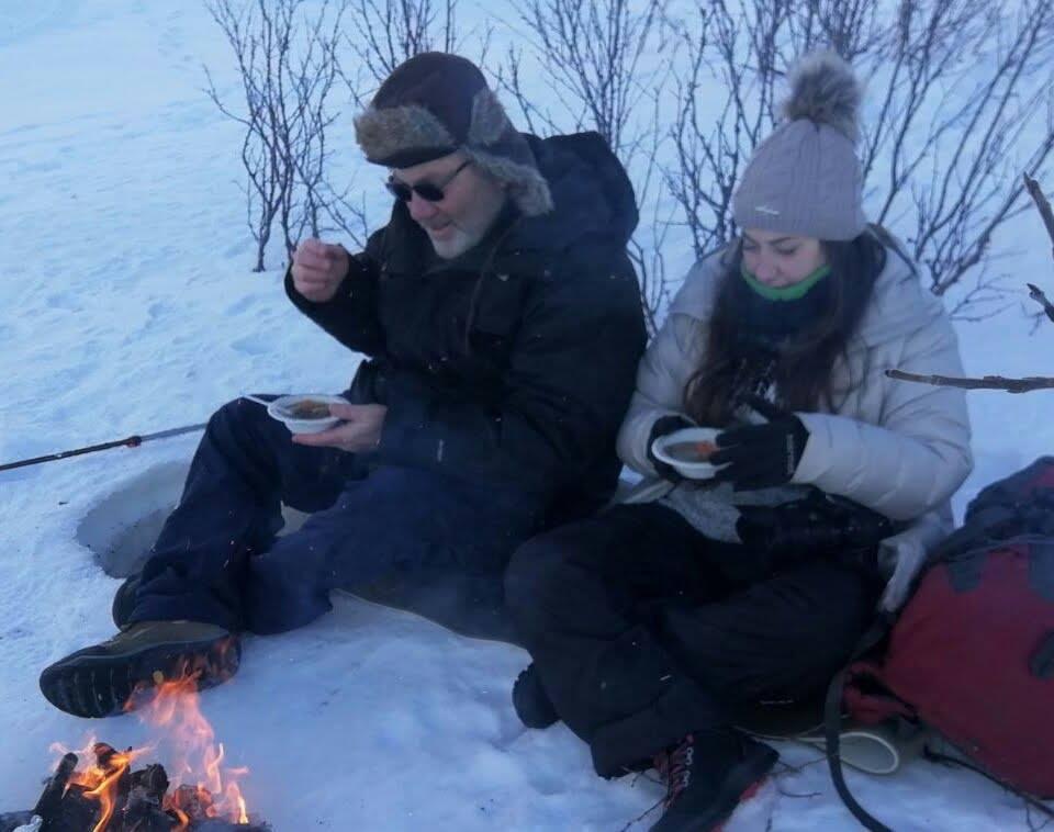 דייג על הקרח