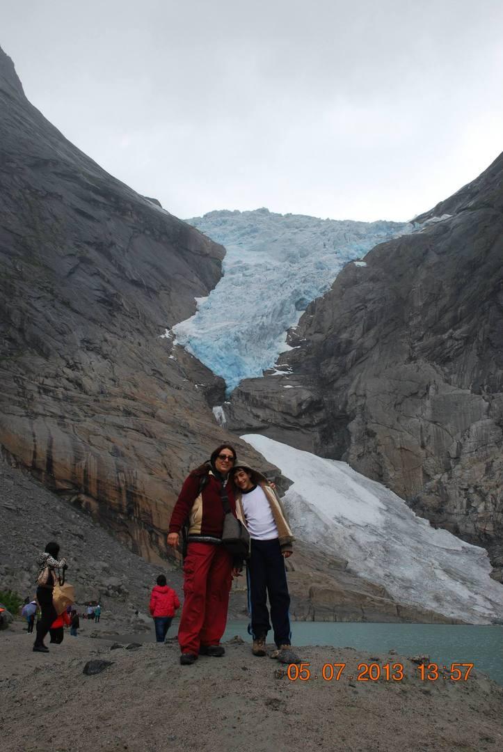 מצטלמים כל עוד יש קרחון