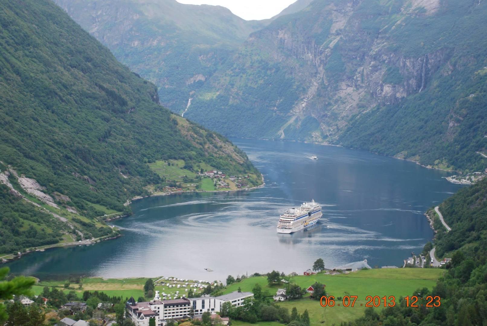 פיורד Geirangerfjorden