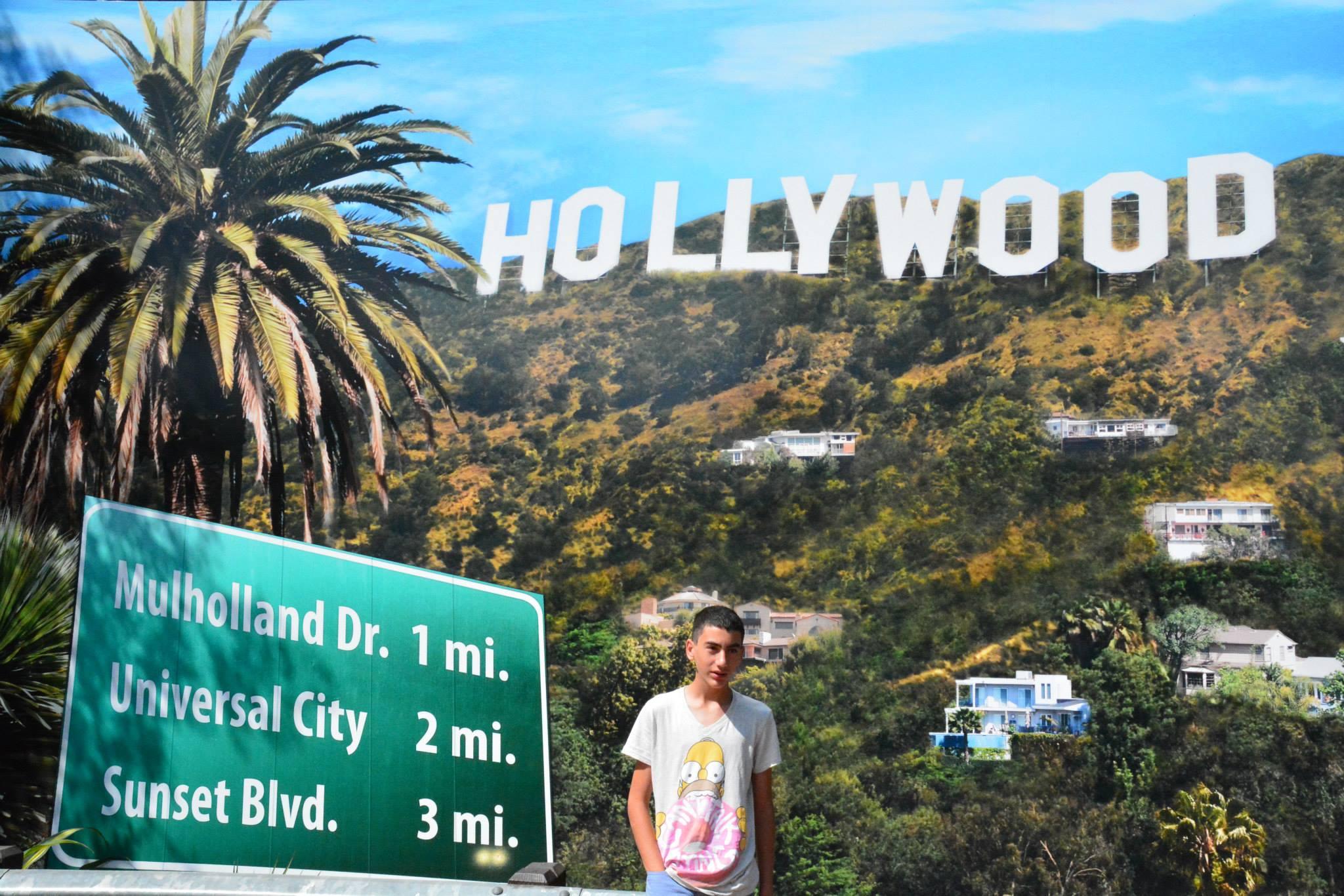 השלט הוליווד על הגבעות