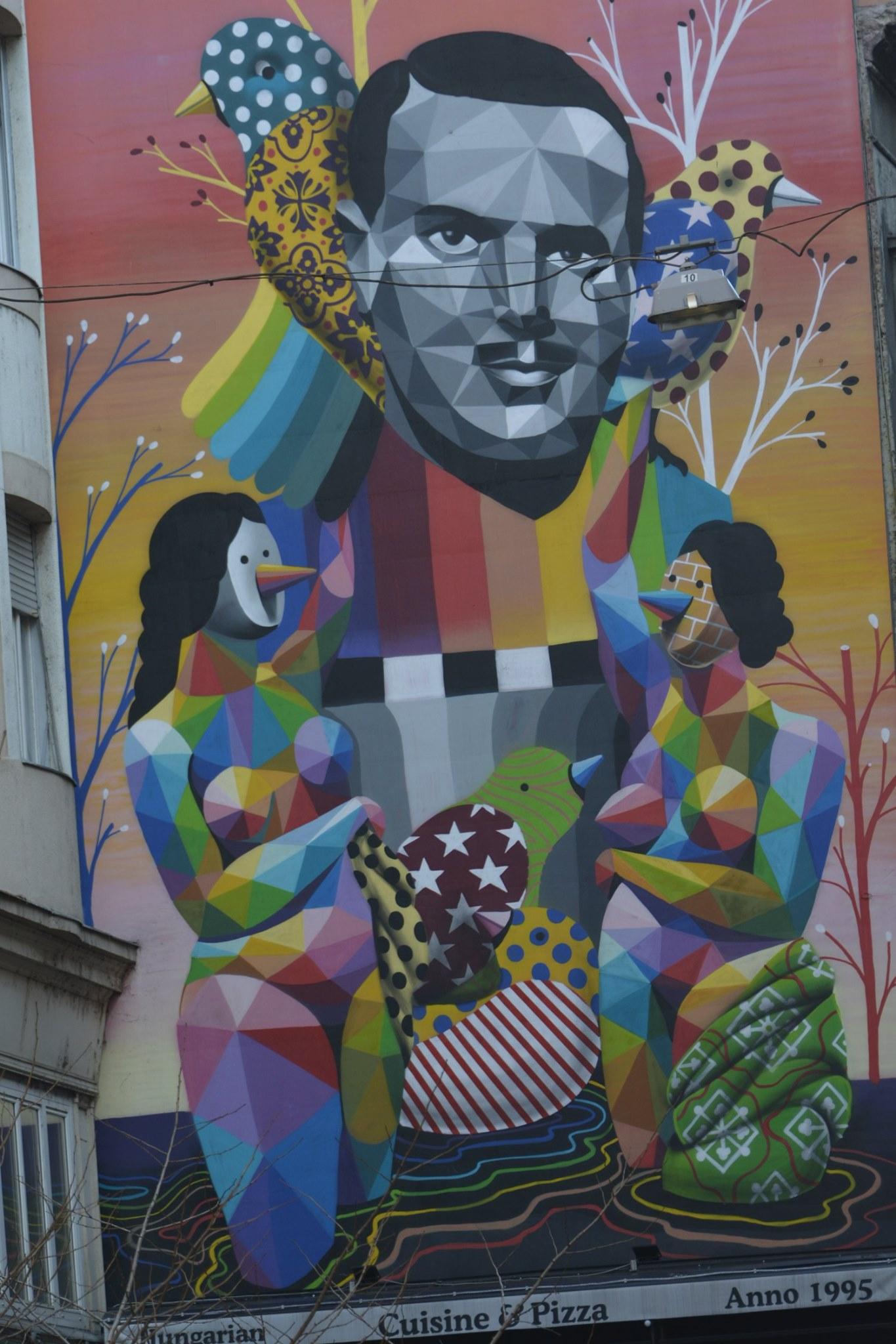 ציורי קיר-בודפשט
