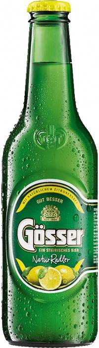 בירה אוסטרית גוסר לימון