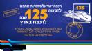 רכבת ישראל מזמינה אתכם לחגיגות 125 שנה לרכבת - בסוכות.