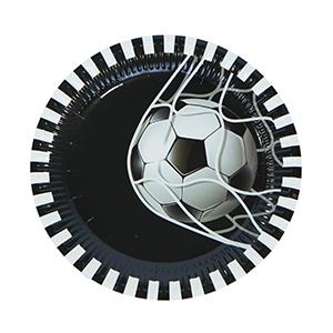 צלחות גדולות כדורגל 20 יח'