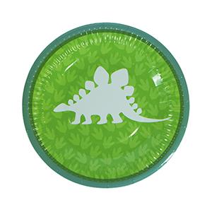 צלחות קטנות דינוזאורים