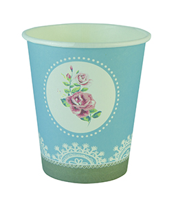 כוסות פרחים רומנטים 20 יח'