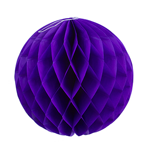 """כדור כוורת סגול 30 ס""""מ"""