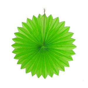 """מניפת נייר ירוק 40 ס""""מ"""