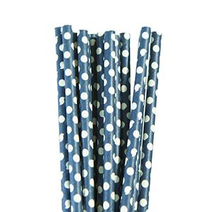 קשיות נייר נקודות כחול 20 יח'