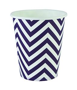 כוסות זיגזג כחול 20 יח'