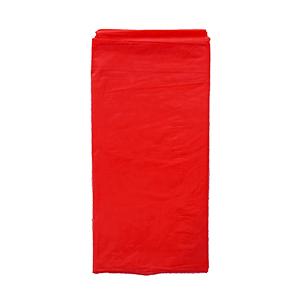 מפת ניילון אדום חלק