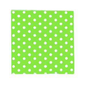 מפיות נייר ירוק נקודות 20 יח'