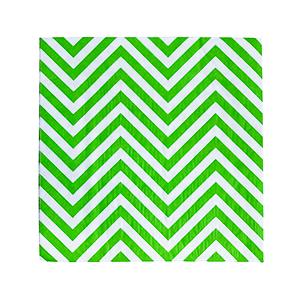 מפיות נייר ירוק זיגזג 20 יח'