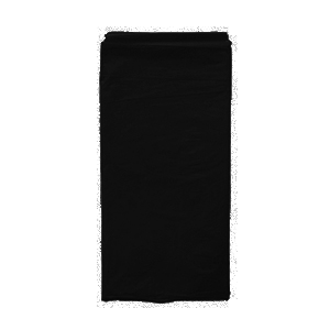 מפת ניילון שחור חלק