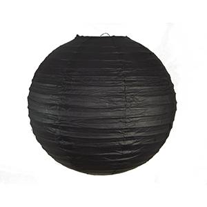 """אהיל נייר שחור 30 ס""""מ"""