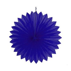 """מניפת נייר כחול 40 ס""""מ"""
