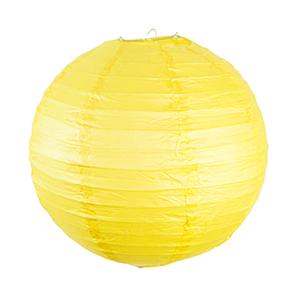 """אהיל נייר צהוב 30 ס""""מ"""