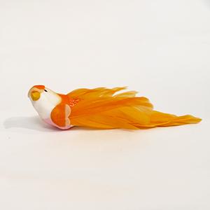 ציפור דקורטיבית כתומה