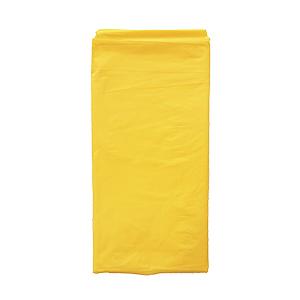 מפת ניילון צהוב חלקה