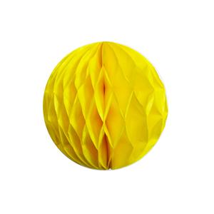 """כדור כוורת צהוב 10 ס""""מ"""