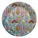 צלחות גדולות מסיבת גלידות 20 יח'