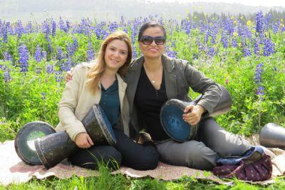 סדנת תיפוף לנשים בטבע - אווירה טובה וכיף גדול