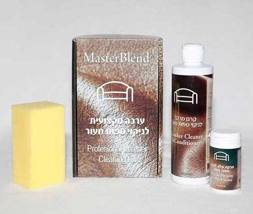 ערכת מקסי - חומר לניקוי ספות עור