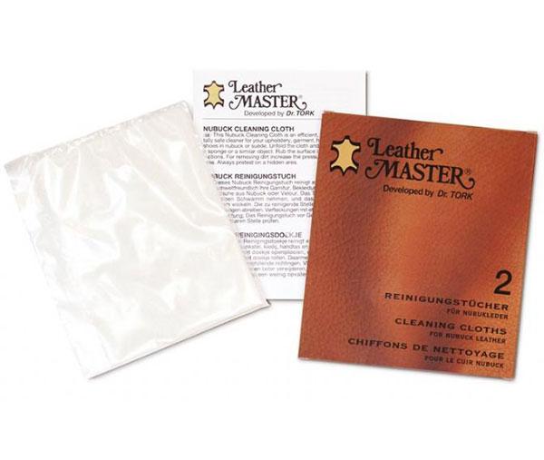 בד לניקוי עור מסוג נובוק | Nubuck Cleaning Cloth - Leather Master Italy