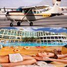טיסה רומנטית במטוס פרטי לים המלח