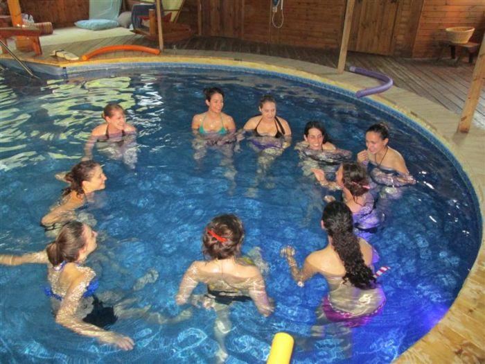 מסיבת רווקות ווטסו - חוויה במים