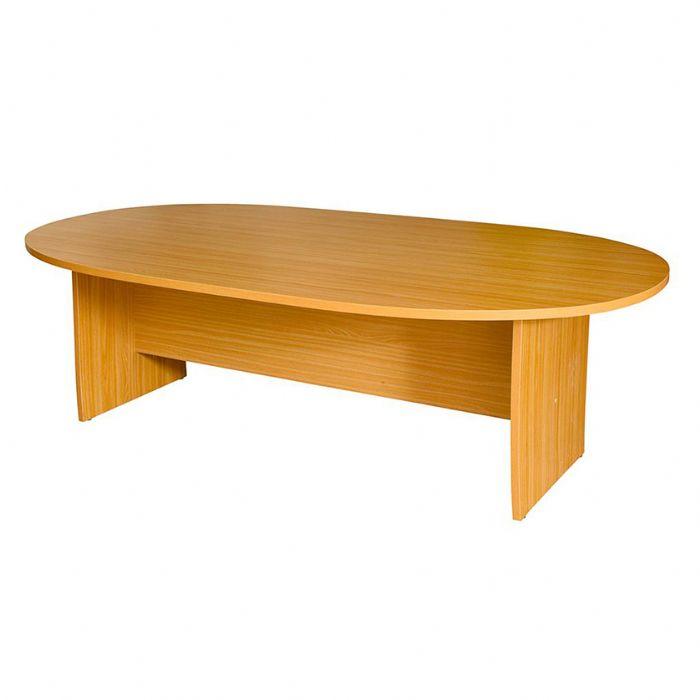שולחן ישיבות אובלי, חיפוי פורמייקה/מלמין