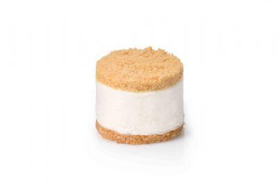 עוגת מוס גבינה פירורים אישית