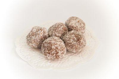 עוגיות כדורי שוקולד קוקוס