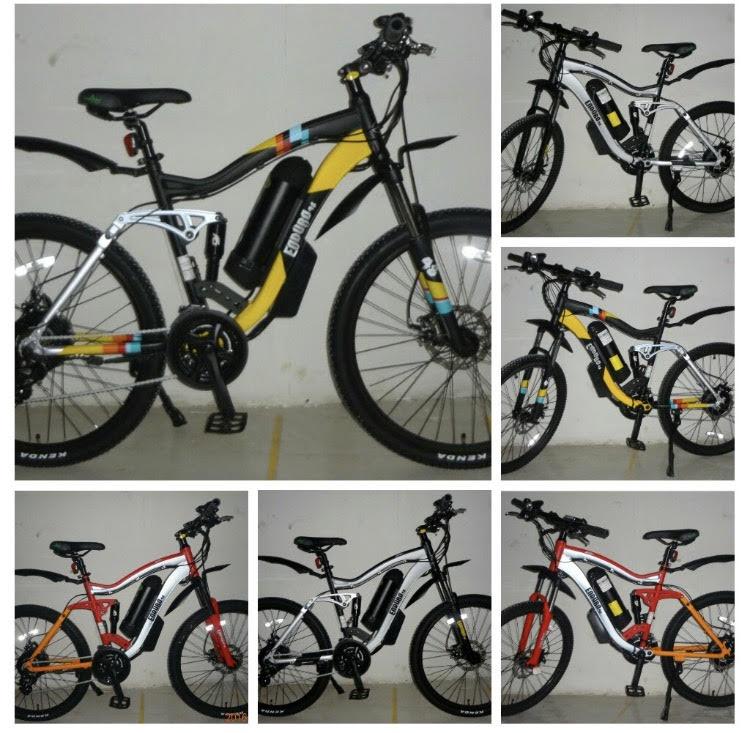 """""""אופניים חשמליים אנדורו"""""""