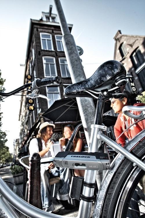 U מנעול אופניים ברמת נעילה 5