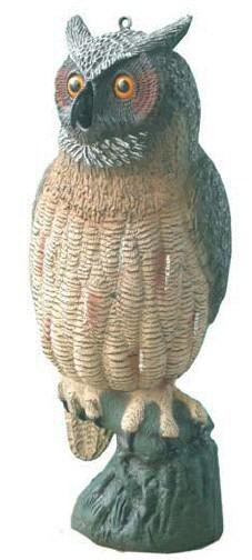 דחליל מפלסטיק - ינשוף - ינשופים