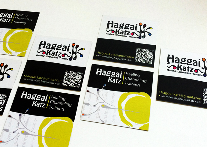 כרטיס ביקור | פרוייקט מיתוג חגי כץ - מתקשר ומרפא א
