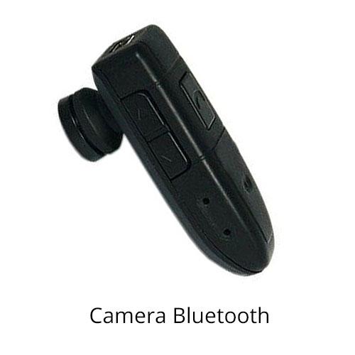 אוזניית בלוטוס מצלמת