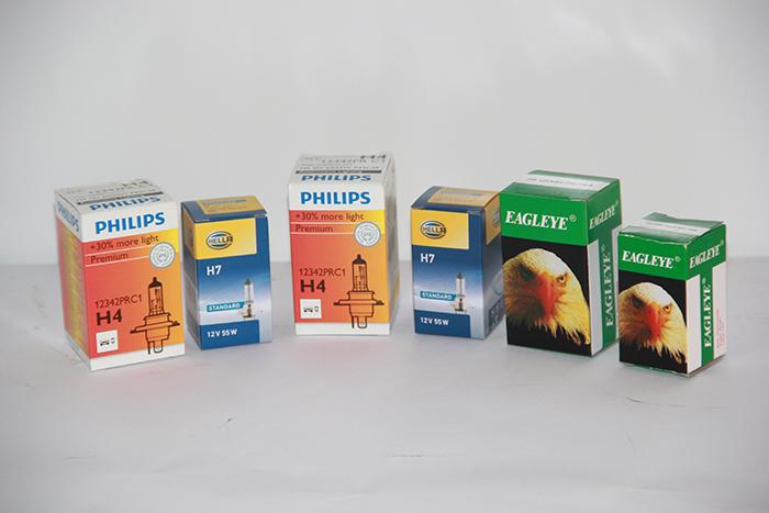 נורה קדמית - H7 55/60W תוצרת Philips