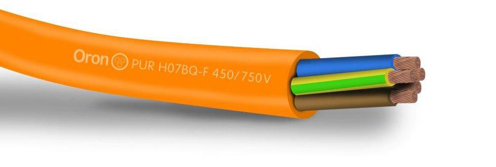 H07BQ-F 450/750V כבל פוליאוריתן גמיש לתנאים קשים